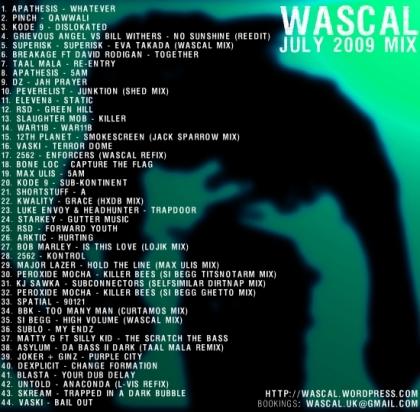 WASCAL JULY